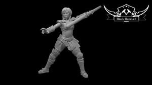 Ancient mystical leader warrior - Star Wars Legion Scale/Roleplay miniatures BR