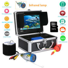 """Professional 30m Fish Finder Underwater Ice Fishing Camera 7"""" Color HD Monitor"""