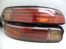 JDM TOYOTA SOARER SC300 SC400 KOUKI GOLDEN LINING TAIL LIGHTS OEM