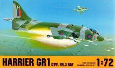Harrier Gr 1 (3RD Escadron RAF) 1/72 gomix (ex grenouille)
