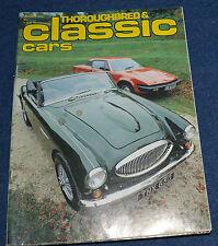 Thoroughbred & Classic Cars January 1979 British Coachbuilders, Aston Martin