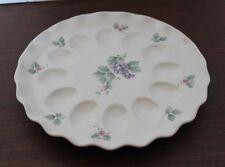 Pfaltzgraff Grapevine Deviled Egg Plate