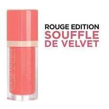 3 X Bourjois Rouge Edition Souffle De Velvet Liquid Lipstick 04 Ravie En Rose