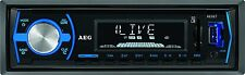 AEG BT/CR Autoradio mit Bluetooth USB Card Reader AUX-IN LCD-Display Schwarz