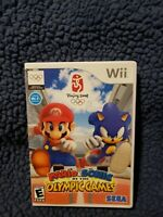 Mario And Sonic At The Olympic Games Beijing 2008 (Nintendo Wii, 2007) Complete