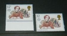 GB QEII VARIETY 1980 12p AUTHORESS MISSING 'P' UNMOUNTED MINT
