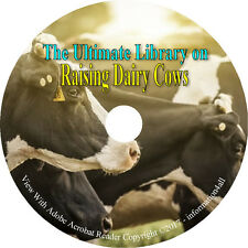 94 Books on DVD, Ultimate Library on Raising Dairy Cows, Homesteading Survival