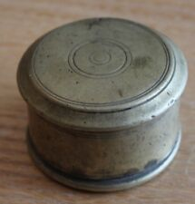 travail de poilu tranchée joli petite boite en bronze guerre 14-18  ww1