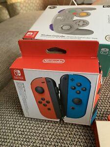 Nintendo Joy-Con Neon Red/Neon Blue (11396094) Joysticks