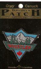 Whistler British Columbia Canada Souvenir Patch Mountains