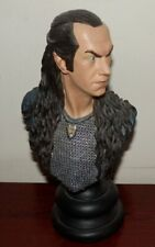 Lord of the Rings Lord Elrond limited edition figure no box SIDESHOW WETA damage