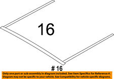 FORD OEM Sunroof-Upper Seal 7T4Z7851707A
