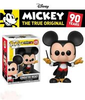 FUNKO POP DISNEY - MICKEY`S 90th - CONDUCTOR MICKEY FIGUR - NEU/OVP