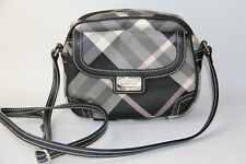 Authentic BURBERRY LONDON Blue Label Checkered Cross Body Bag  (Pre Owned)