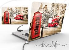 Bus di Londra Design Wrap Adesivo della pelle per MacBook 13 Copertura Laptop Decalcomania