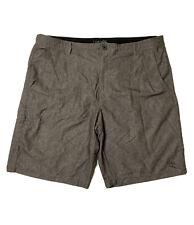 Dahui Men Size 38 (Meas 39x11) Gray Hybrid Shorts Polyester/Spandex