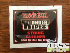 20 x Ernie Ball Wonder Wipes Guitar String Cleaner - 20 Individual Packs