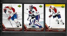 2005-06 UD Rookie Class Montreal Canadiens Team Set (3)