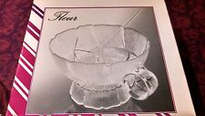 ARCOROC PUNCH BOWL SET - NEW IN BOX - 12 CUPS, HOOKS, & LADLE $137 Value!