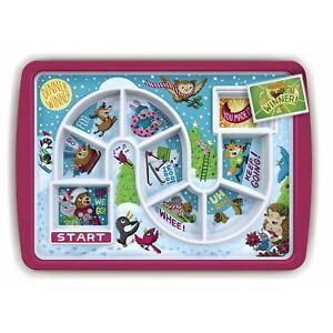 Fred Dinnner Winner Winter Food Tray Children's Novelty Fun Dinner Plate