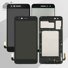 For LG ARISTO 3+ PLUS LM-X220MB X220PM X220MB LCD Screen Touch Digitizer + Frame