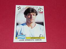 214 SIMON ARGENTINA ITALIA 90 FOOTBALL PANINI WORLD CUP STORY 1990 SONRIC'S