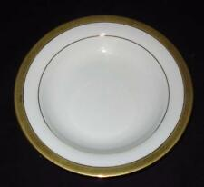 Wallace Heritage PANTHEON GOLD Greek Key, Wide Rimmed Soup Bowl, 9""
