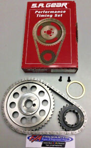 Ford 351 Cleveland With 351 Windsor Crank Snout Timing Set S.A. GEAR 78521W-9CW