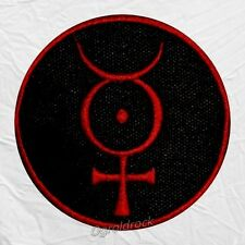 Marilyn Manson Mercury Logo Embroidered Patch Holy Wood Androgyne Spooky Kids
