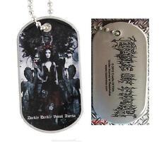 "Cradle of Filth Dog Tag ""Darkly Darkly"" - NECKLACE-CANI marchio-COLLANA"