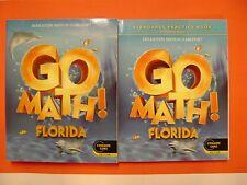 Go Math! Florida Student Edition & Practice Book Grade K (Common Core Edition)