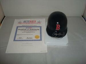 Roger Clemens signed Boston Red Sox mini batting helmet -Tristar Authenticated
