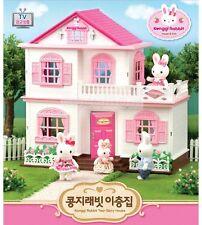 "Korea sylvanian Families "" Konggi Rabbit "" Two story house set"