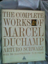 The COMPLETE Works of MARCEL DUCHAMP by Arturo Schwarz 1970 2nd revised ed. DJ++