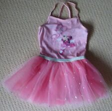 NWT Disney Licensed Minnie Mouse Girls Leotard Tutu Summer Dress Size 6