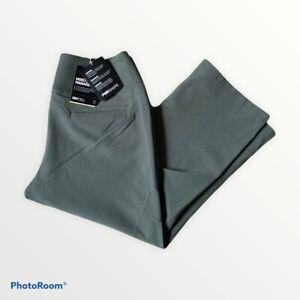 Puma PWRSHAPE Golf Capri Pants Womens Size Medium M TC12793 Thyme Green