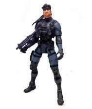 "Mcfarlane Toys Metal Gear Solid 2 Solid Snake de 6 ""Video Juego Anime Figura Rara"