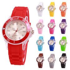 sv24 Watch Silikon Uhr Armbanduhr Damen Herren Kinder Uhren Sport Trend Farbwahl