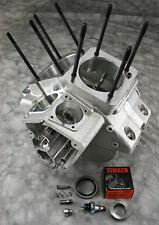 """Natural Finish Ultima® Fatso Engine Case 3.875"""" Bore, Twin Cam Top, Evo Lower"""