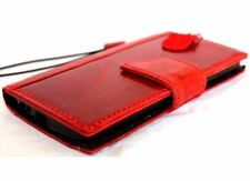 genuine leather Case for apple iphone 6s book wallet handmade stand rubber flip