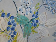 Designers Guild Fabric 'Kimono Blossom' Delft 4.1 METRES (410cm) 100% Cotton