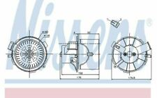 NISSENS Ventilation habitacle pour PEUGEOT 307 87138 - Pièces Auto Mister Auto