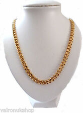 """CHUNKY 22"""" GOLD PLATED NECKLACE SUITABLE FOR MALE OR FEMALE"""
