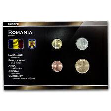 2005-2007 Romania 1-50 Bani 4-Coin Set BU - SKU #37318