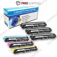 6PK TN227 TN223 Toner Cartridge (NO CHIP) For Brother HL-L3290CDW MFC-L3710CW