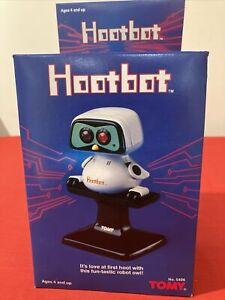 Tomy Hootbot Robot Rare Vintage 1985 New, Never Opened Box