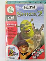 Leap Frog Leap Pad 2nd Grade Shrek 2 Interactive Book & Cartridge