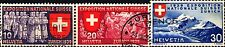 SVIZZERA - 1939 - Esposizione nazionale di Zurigo, iscrizioni in francese