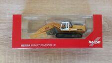 Herpa 308908 -1/87 Liebherr Crawler Excavator 954 Litronic of Sorting Grab - New