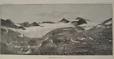 Yosemite National Park Mount Lyell Glacier Sierra Nevada Mountains 1885